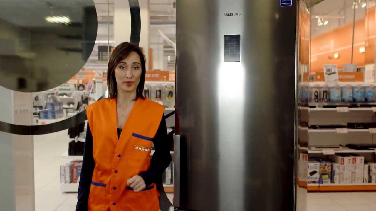 Samsung RB31FEJNBBSS - Frigorifero Combinato Serie SMART LINE - YouTube
