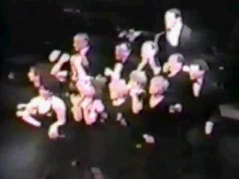 Opening scene and song of COMPANY, orig. cast