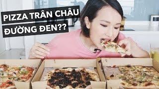 ĂN THỬ PIZZA TRÂN CHÂU ĐƯỜNG ĐEN | Vlog | Giang Ơi