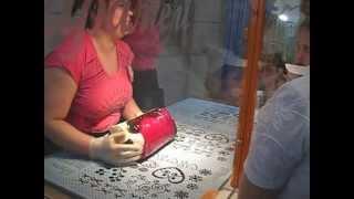 Изготовление карамельных конфеток. г. Львов, Мастерская карамели.(Демонстрация изготовления карамельных конфет в