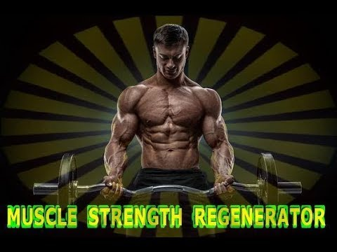 Muscle Strength Regenerator - Future channelled Binaural Bea