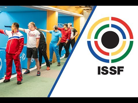 10m Air Pistol Men Final - 2018 ISSF World Cup Stage 4 in Mu