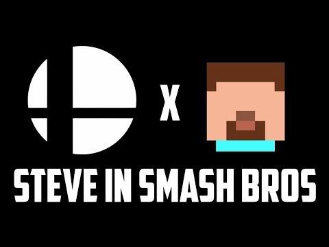 Minecraft Steve in Super Smash Bros Ultimate thumbnail