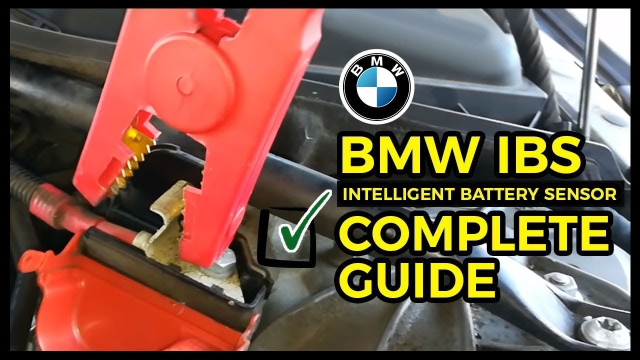 bmw no start no crank intelligent battery sensor bmw ibs