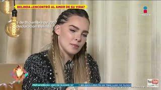 Belinda EXPLICA EN ENTREVISTA porque TATUO el nombre de NODAL y no el de LUPILLO RIVERA