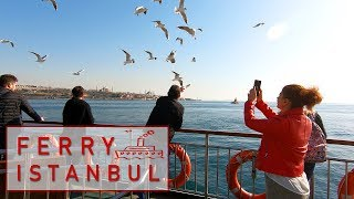 Istanbul Ferry From Europe To Asia Relaxing Istanbul Video 2019