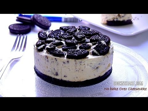 No Bake Oreo Cheesecake YouTube