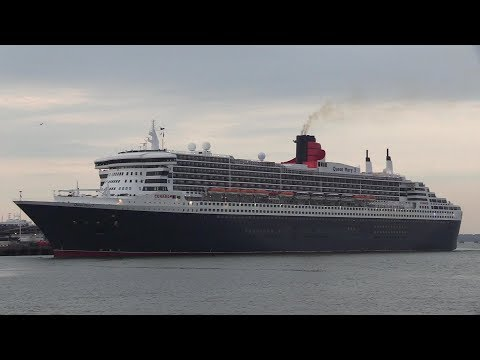 Sunday Special With 4 Cruise Ships Arriving Into Southampton Plus The QM2  04/08/19