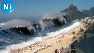 Top 10 Craziest Events Caught on Camera  | Tsunami