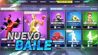 'NEW BAILE' GALLET SKINS STORE FORTNITE 29 décembre