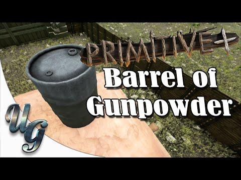 Ark Survival Evolve - Primitive Plus - Barrel of Gunpowder
