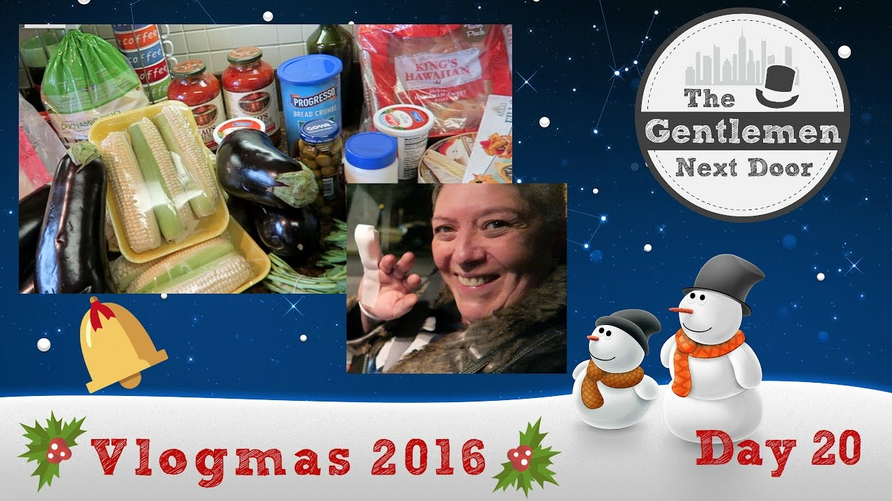 Download Vlogmas Day 20 | Christmas Food Shopping & Cooking + Emergency -- eek! | The Gentlemen Next Door
