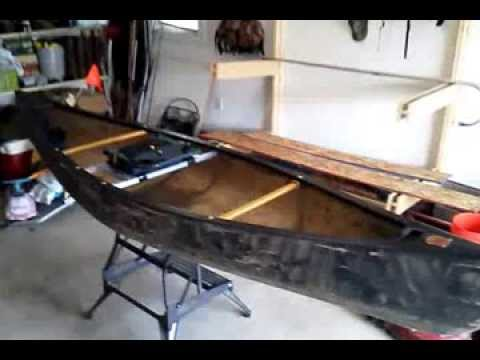 Old Town Discovery 119 Solo Canoe Seat Mods Pt 2