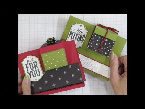 Finger Tips for Paper Crafting Art: Gift Box in a Card