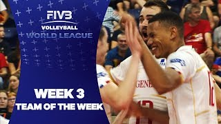 FIVB World League: Week 3 - Team of the Week