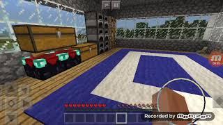 Minecraft защищенный дом