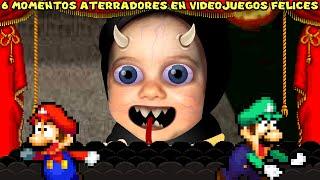 6 Momentos MACABROS y MUY PERTURBADORES en Videojuegos Felices - Pepe el Mago