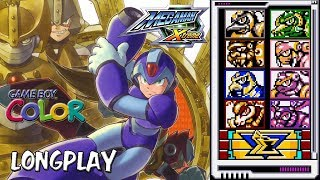 "[LONGPLAY] GBC - Mega Man Xtreme ""100%, all modes"" (HD, 60FPS)"