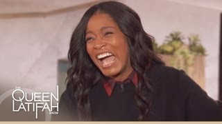 Keke Palmers Hilarious Impersonation on The Queen Latifah Show