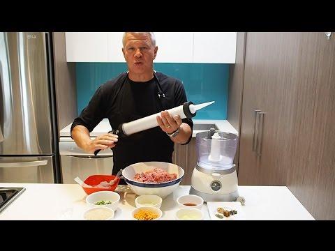 Making Sausages With A Caulking Gun John The Butcher Tutorials