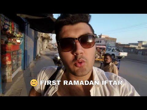 FIRST IFTAR OF RAMADAN VLOG | Ramzan Mubarak | Ramadan kareem |