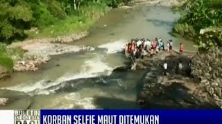 Korban selfie maut di bawah jembatan Tinjomoyo Semarang ditemukan tewas BIP 07 03