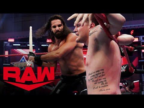 Seth Rollins & Murphy brutalize Dominik Mysterio with Kendo sticks: Raw, Aug. 10, 2020