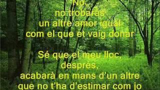 PLORANT LES HORES - Sergio Dalma