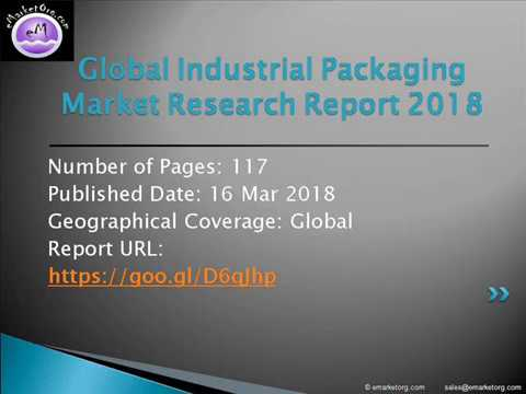 Industrial Packaging Market Projected To Grow at a Remarkable CAGR during Forecast