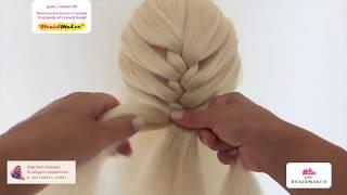 Плетение кос!!! Коса Колосок!!! Французская коса! Уроки плетения кос!