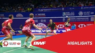 VICTOR CHINA OPEN 2018 | Badminton MD - F - Highlights | BWF 2018