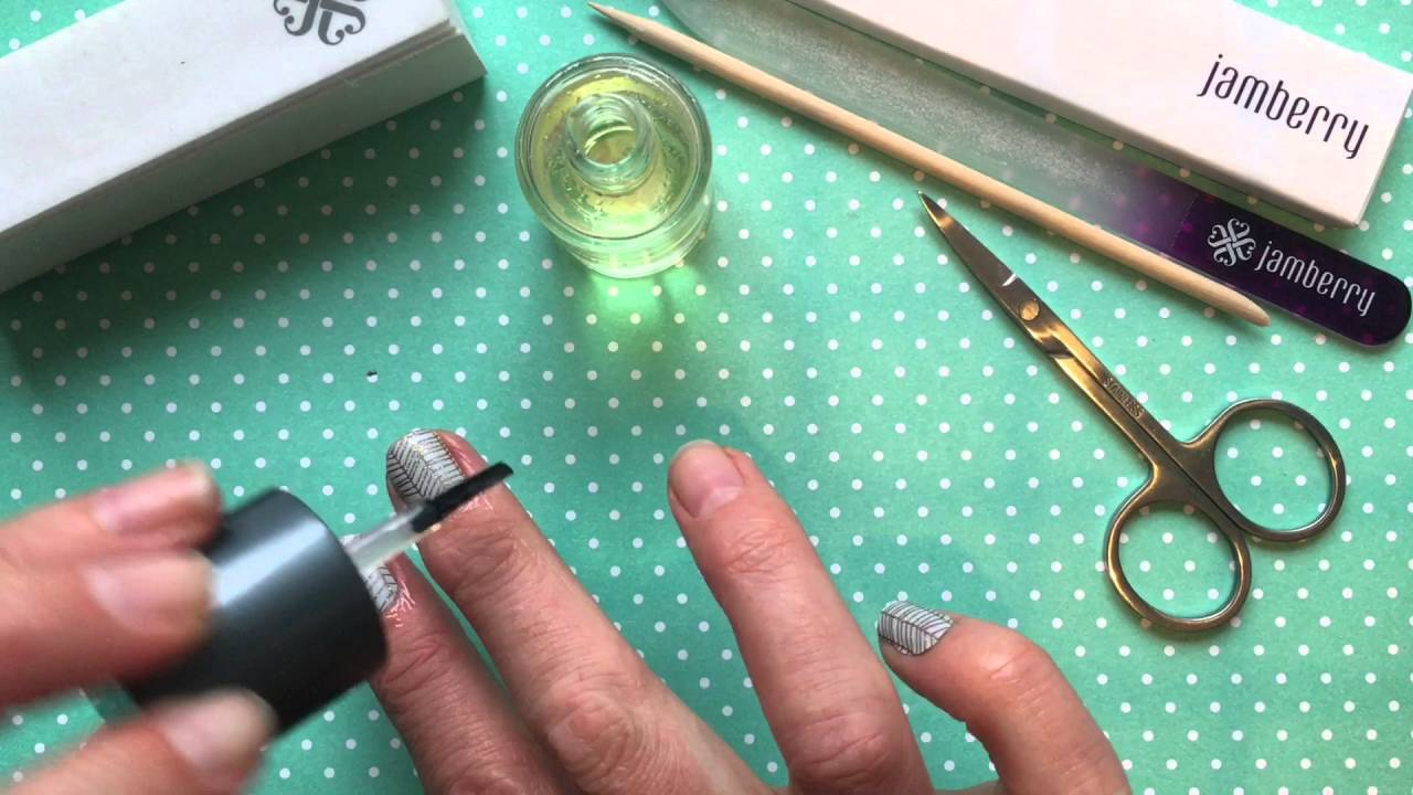 The Importance of Cuticle Oil - Jamberry Nail Wraps - YouTube