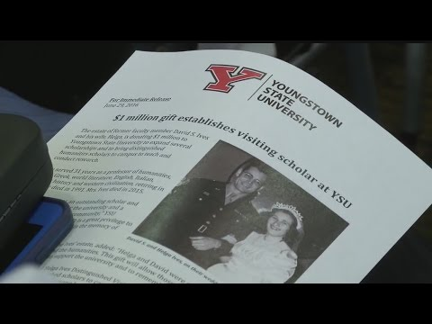 Donations continue pouring in to Youngstown State University
