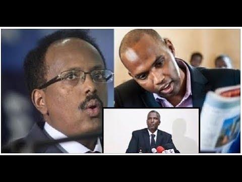 WAR Deg Deg:Xaalka C/Raxmaan C/Shakuur, Mashquulka Villa Somalia, Xiisad jirta & go'aanka HAWIYE