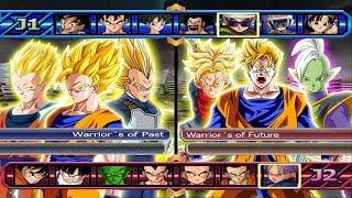 Warrior´s of Past VS Warrior´s of Future - Dragon Ball Z Budokai Tenkaichi 4