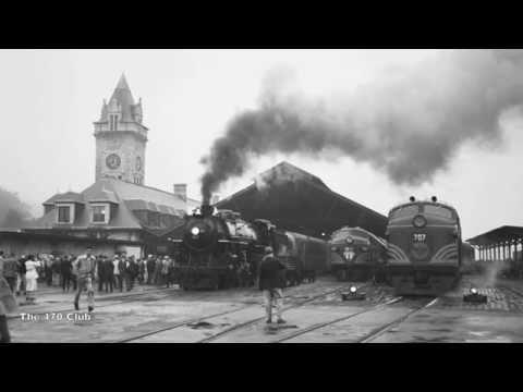 Maine Central Railroad #470's Last Run Part 1