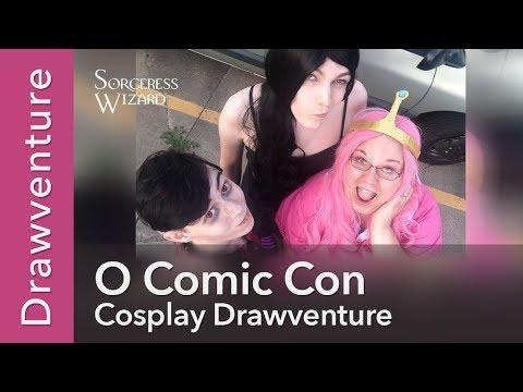 O Comic Con | Adventure Time Cosplay Drawventure