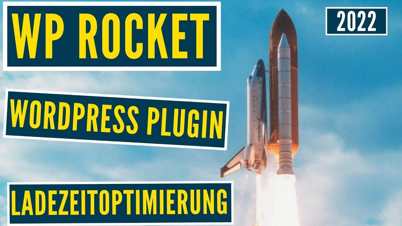 WP Rocket | das WordPress Caching Plugin ✅ schnellere Ladezeit