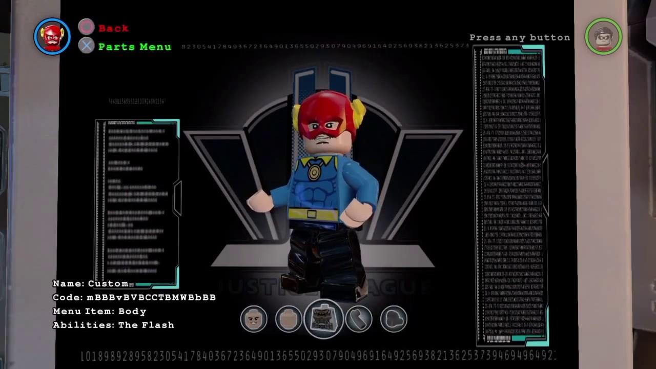 Lego batman 3 Quicksilver custom - YouTube
