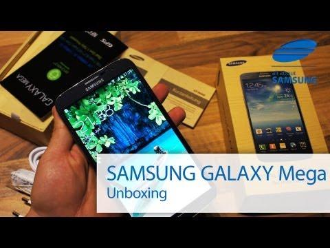 Samsung Galaxy Mega 6.3 Unboxing deutsch FullHD