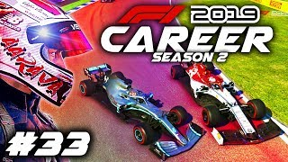 F1 2019 CAREER MODE Part 33: HAMILTON TURNED INTO ME!!!