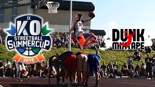 NASTY Dunk Contest - KO Streetball Summer Cup 2016 !