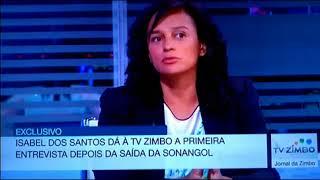 Isabel dos Santos dá entrevista após Exoneração