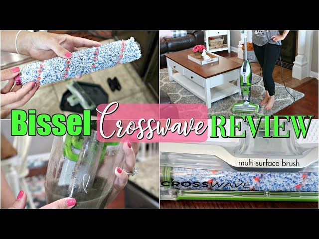 My Review of the Bissel Crosswave- CLEAN WITH ME