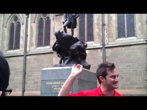Matthew Flinders - Peek Tours Melbourne Free Tour