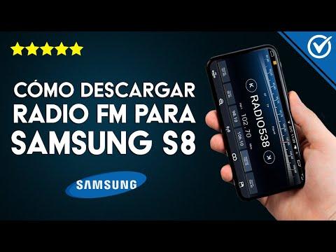 Cómo Descargar, Instalar y Escuchar Radio FM para Samsung Galaxy S8 y S8 Plus si no Tengo Radio