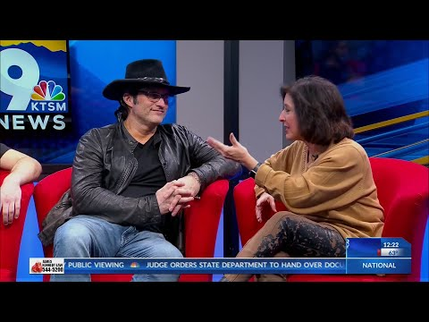 KTSM Exclusive interview with filmmaker Robert Rodriguez prior to El Paso Film Festival