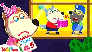 No One Remembers Lucy's Birthday - Kids Stories About Birthday   Wolfoo Family Kids Cartoon