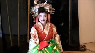法住寺・義士会 - 島原菊川太夫・祇園舞妓による茶席(2015)