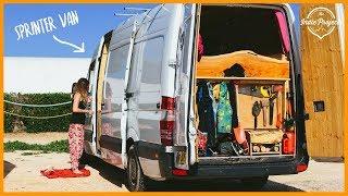 We Met a Family Living in a Sprinter! Van Life Europe Part 14